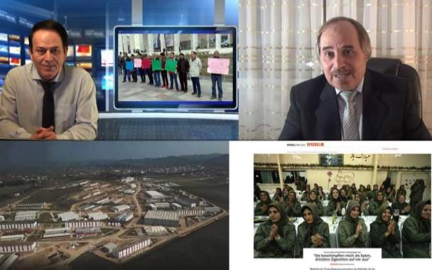 گفتگوی جواد فیروزمند با محمد حسین سبحانی: بررسی گزارش اشپیگل از وضعیت مجاهدین و جداشدگان در آلبانی