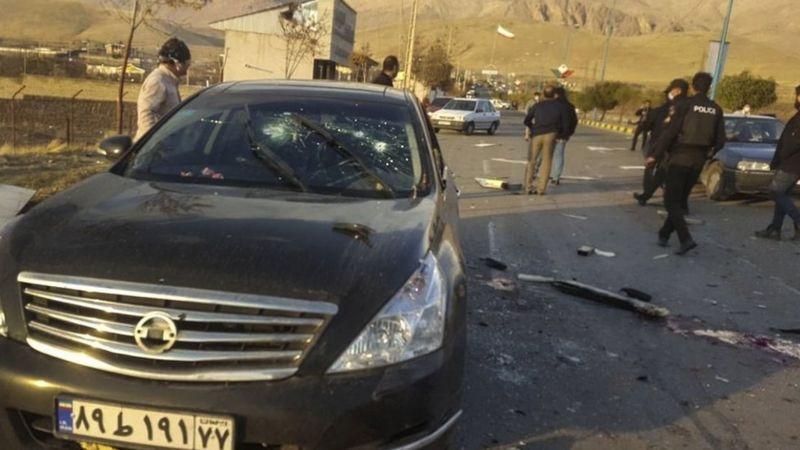 محسن فخریزاده دانشمند هسته ای و رئیس سازمان پژوهش وزارت دفاع ترور شد